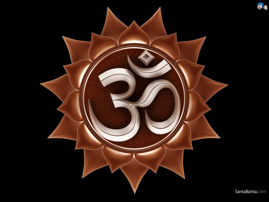 Hindu Symbols HD Wallpaper Free Download