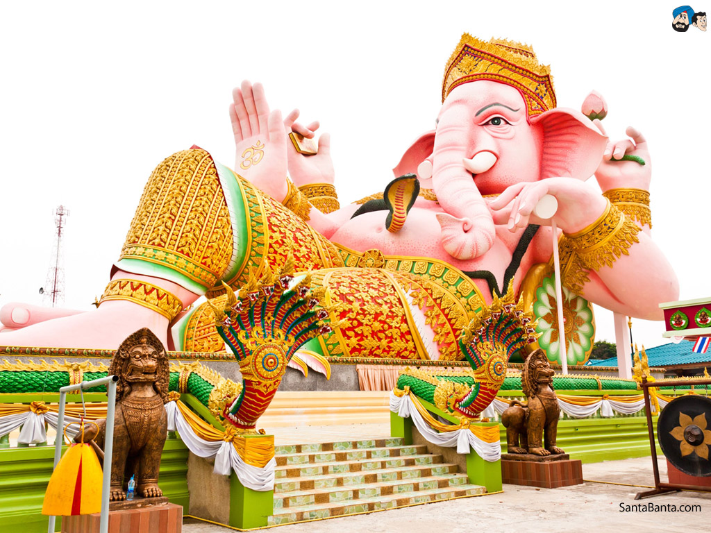 Lord Ganesha Hd Wallpaper Free Download