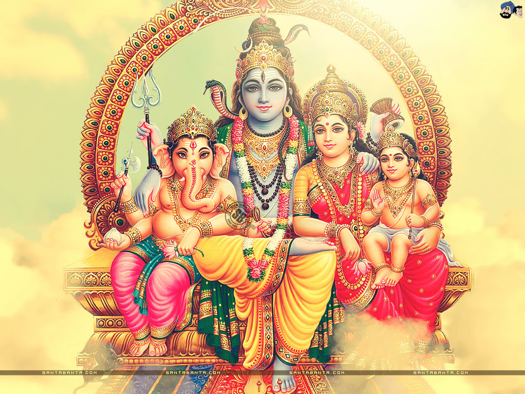 Lord shiva family photos download